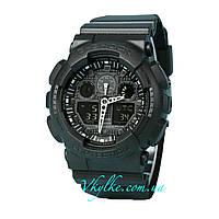 Часы Casio G-Shock GA-100 Black AAA, фото 1