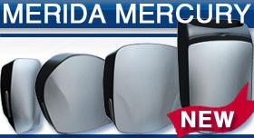 Merida Mercury - матовая сталь с чёрным пластиком