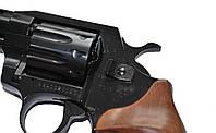 """Револьвер под патрон Флобера Alfa 461 4""""  (черный/дерево), фото 1"""