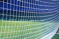 Сетка футбольная (нейлон, р-р 7,24*2,23м, ячейка р-р 15*15см, PVC чехол, в компл. 2 шт.)