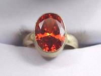 Бижутерия кольцо с цитрином ручная работа Индия