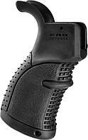 Рукоятка пистолетная FAB Defense AGR-43 прорезиненная для M4/M16/AR15 черный, фото 1