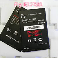 Батарея (акб, аккумулятор) BL7201 для Fly IQ445 Genius (1600 mah), оригинал