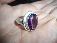 Бижутерия кольцо с аметистом ручная работа Индия