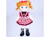 Кукла детская мягкая в платьице