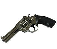 Револьвер под патрон Флобера Alfa 431 (никель/пластик)