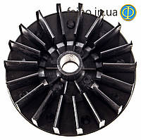 Вентилятор двигателя бетономешалки (120 мм)