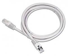 """Патч-корд UTP Cablexpert (PP12-1.5M) литой, 50u """"штекер с защелкой, 1.5 м, серый"""