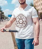 """Чоловіча футболка """"Алхімічний символ"""""""