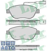 Колодки тормозні передні (більші) Fiat Doblo 2005-2009 (LPR 05P764), фото 1