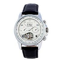 Мужские  часы  Zenith - Fly Back, механика с автозаводом, цвет корпуса серебро, фото 1