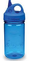 Бутылка для воды c носиком Nalgene прозрачная-синия на 350ml