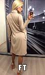 Женское платье с накидкой, французский трикотаж, р-р 42-44; 44-46, фото 2