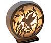 Соляная лампа  Круглая с накладкой, фото 3
