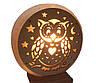 Соляная лампа  Круглая с накладкой, фото 4