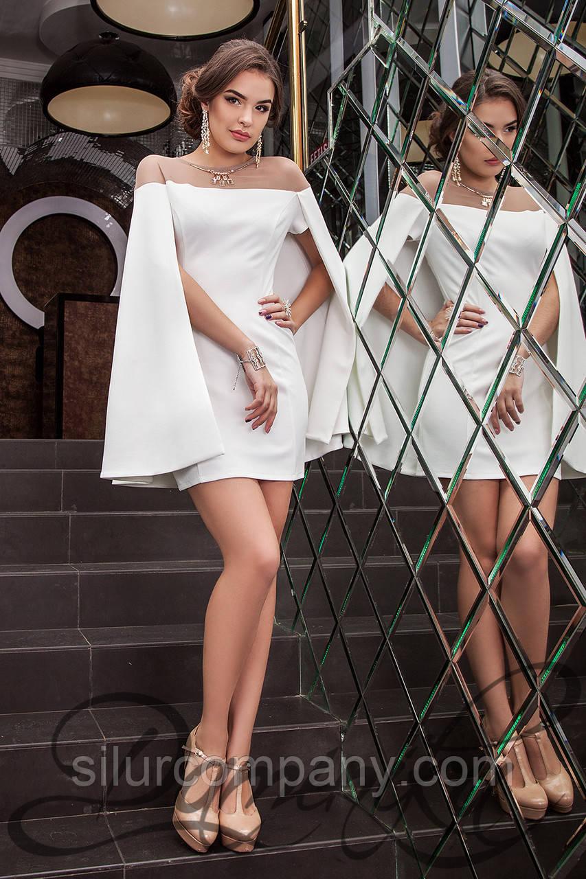 f1945d55c79ccf1 Шикарное коктейльное платье-кейп Каролайн: продажа, цена в Киеве, в ...
