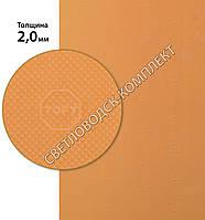 «Эластичка» рисунок «TOPY» (Китай), р. 400*600*2.0 мм, цв. бежевый - резина подметочная/профилактика листовая