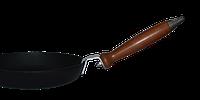 Сковорода чугунная ТМ Термо, d=200 мм, h=20 мм со съемной ручкой