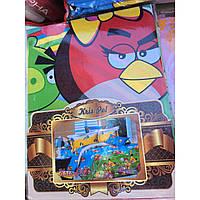 Детское постельное белье Теп комплект подростковый мультики Angry Birds
