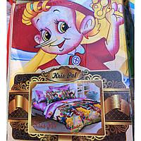 Детское постельное белье Теп комплект подростковый мультики полуторный