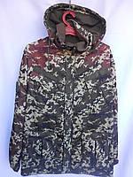 Камуфлированный костюм зимний на флисе Пограничник