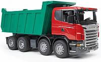 Детский самосвал Bruder Scania M1:16 (03550)