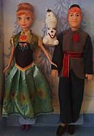 """Набор кукол  из мультфильма """"Холодное сердце."""""""