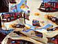 """Детский комплект постельного белья в кроватку из бязи Голд"""" Грузовики"""" (бежевые), фото 4"""