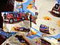 """Детский комплект постельного белья в кроватку из бязи Голд"""" Грузовики"""" (бежевые), фото 6"""