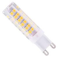 Светодиодная лампа Biom G9 7W 2835 3000K AC220 теплый
