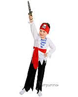 Детский костюм для мальчика Пират с повязкой на глаз