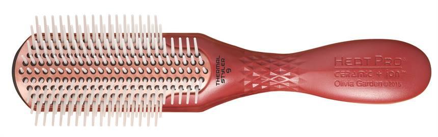 Щетка для волос Olivia Garden Heat Pro Ceramic Ion Styler 9-рядная