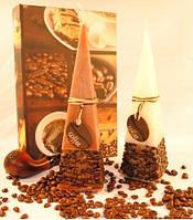 Свеча Кофе пирамида 265