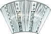INL-1029W-2 Chrome & Silver
