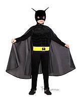 Детский костюм для мальчика Бетмен с поясом