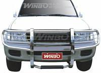 Защита переднего бампера (кенгурятник /дуга) для Toyota Land Cruiser 100 98-