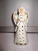 Рождественская фарфоровая статуэтка Ангел - колокол