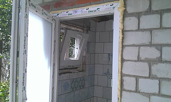 двери из ПВХ профиля Steko (Болгария)