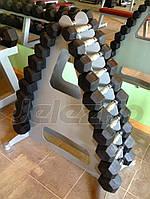 Гантели профессиональные фиксированного веса, гантельные ряды для тренажерных залов
