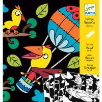 Набор для творчества Djeco расскраска Птица (DJ09621)