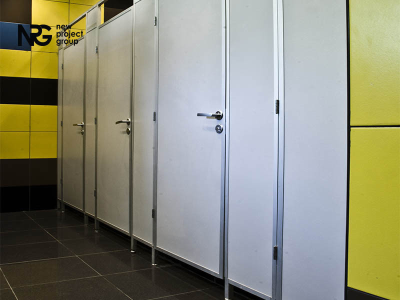 Туалетные перегородки СТАНДАРТ ( 25 мм )