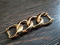 Цепь декоративная №43571 цвет золото