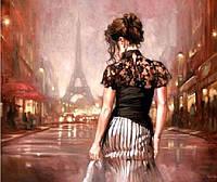"Алмазная вышивка Париж в стиле ретро 30 х 30 см (арт. FS337) серия мозаик ""Танец"""