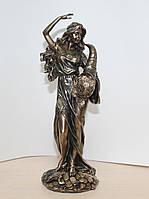 Статуэтка Фортуна с рогом изобилия Veronese 27 см 75484A4, символ удачи