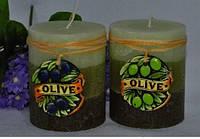 Свеча Olive цилиндр 289