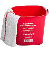 KP97RD Ведро Kleen-Pail 3Qt для дезинфицирующих средств (красное), 2.84 л