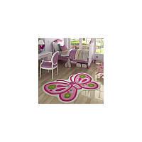 Ковер в детскую комнату Confetti - Sweet Butterfly розовый 100*160