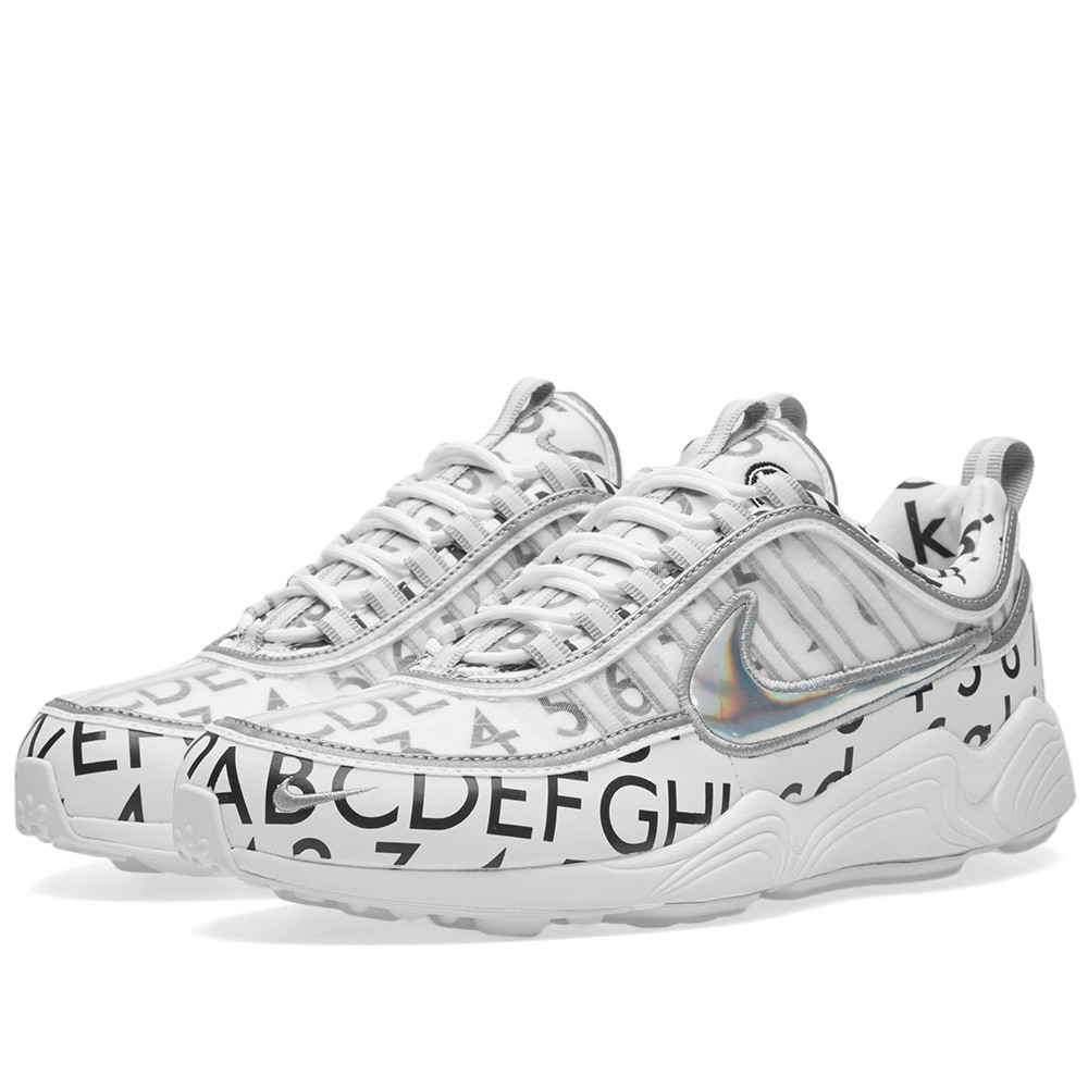 Оригинальные кроссовки Nike x Roundel Air Zoom Spiridon '16 GPX White