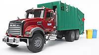 Игрушечный мусоровоз Bruder Mack Granite М1:16 Зеленый (02812)