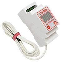 ЦТРД-2 Терморегулятор цифровой двухпороговый, двухрежимный. Для обогревателя, теплицы, инкубатора, котла и др.